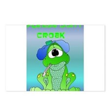 Don't Croak / Get Well Humor Postcards (Package of