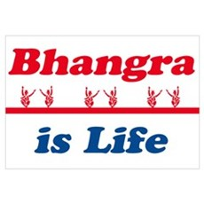 Bhangra Is Life Poster