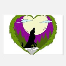 I LOVE WOLVES Postcards (Package of 8)