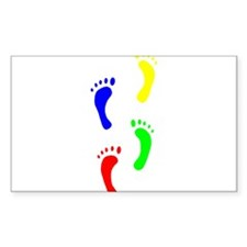 FOOTPRINTS IN THE LIGHT™ Decal