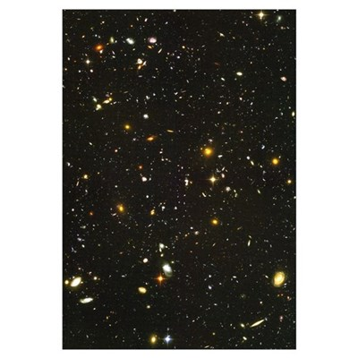 10,000 Galaxies Mini Astronomy Print Framed Print
