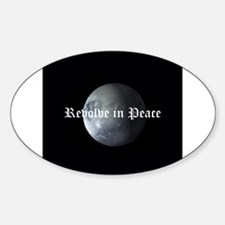 R.I.P. Pluto Sticker (Oval)