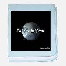 R.I.P. Pluto baby blanket