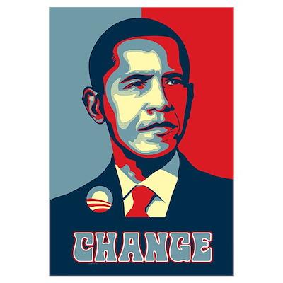Barack Obama Change Poster