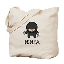 Ninja Throwing Star Tote Bag