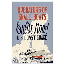 Coast Guard World War II Poster