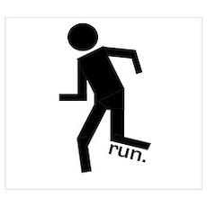Stick Runner Poster