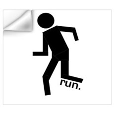 Stick Runner Wall Decal