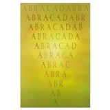 Abracadabra dresden Wrapped Canvas Art