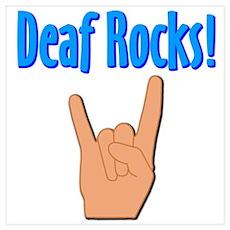 Deaf Rocks Poster