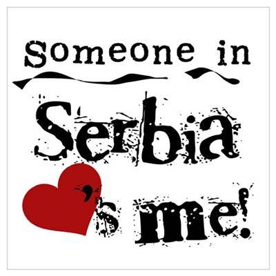 Serbia Loves Me Framed Print