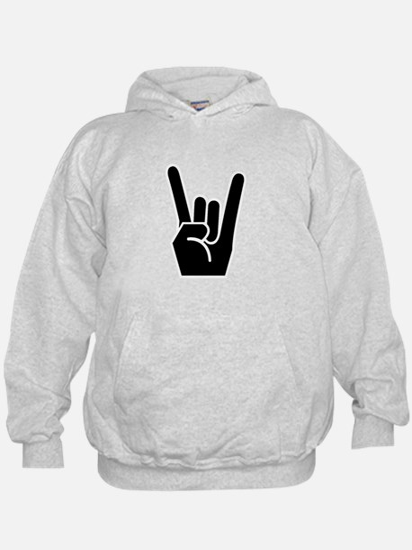 Rock Finger Symbol Hoody