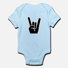 Rock Finger Symbol Infant Bodysuit