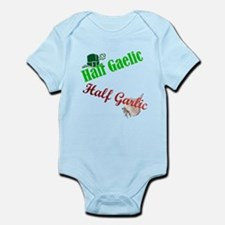 Half Gaelic Half Garlic Infant Bodysuit