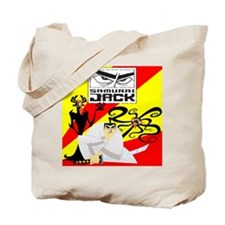 Samurai Jack Enemies Tote Bag