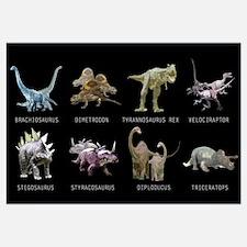 Cute Triceratops Wall Art