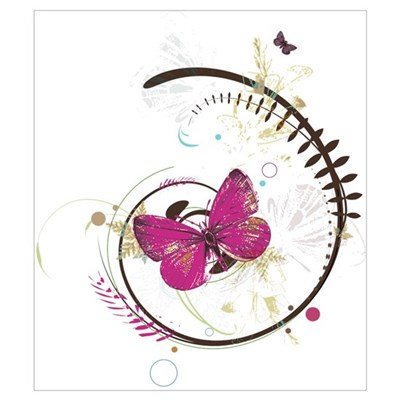 Butterfly Tango Canvas Art