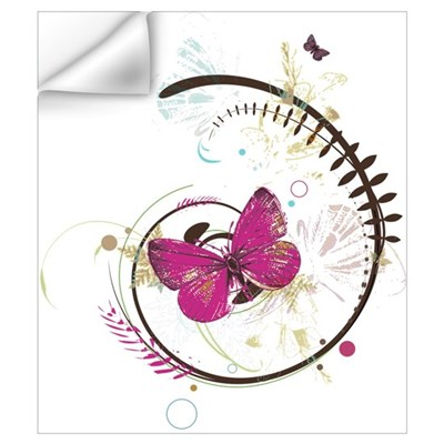 Butterfly Tango Wall Decal