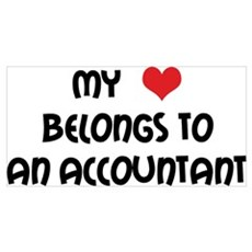Heart Accountant Framed Print