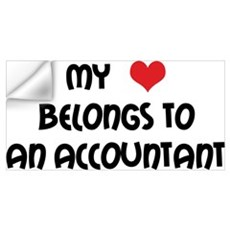 Heart Accountant Wall Decal
