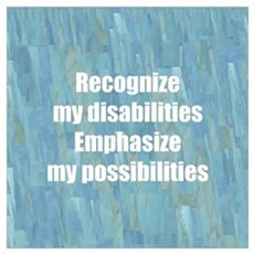 Disability Awareness Poster