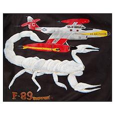 F-89 Scorpion Poster