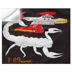 F-89 Scorpion Wall Decal