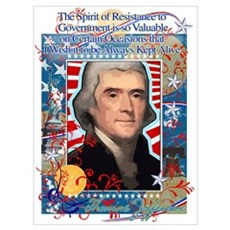 Thomas Jefferson, Famous Quot Poster