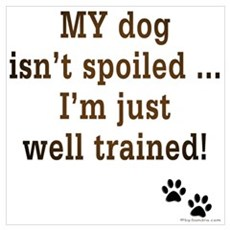 Spoiled Dog Poster