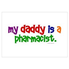 My Daddy Is A Pharmacist (PRIMARY) r Canvas Art