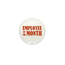 Employee of the Month Mini Button (10 pack)