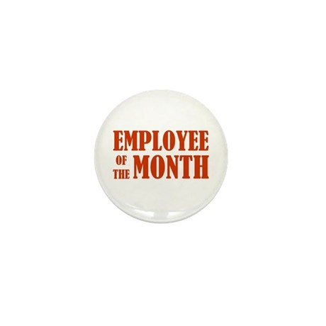 Employee of the Month Mini Button
