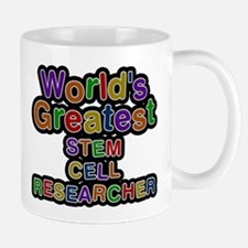 Worlds Greatest STEM CELL RESEARCHER Mugs