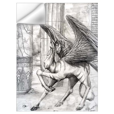 Ahkpet, eyptian demon Wall Decal