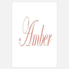 Cursive Amber