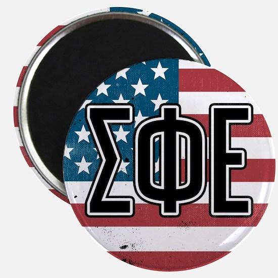 Sigma Phi Epsilon Flag Magnet