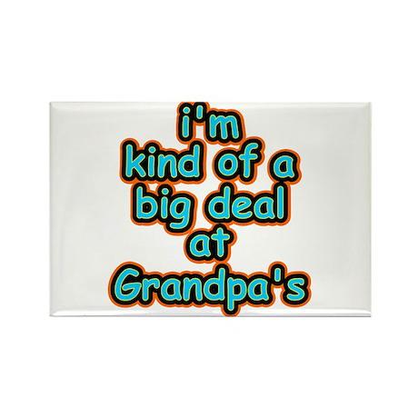 Big Deal At Grandpa's Rectangle Magnet