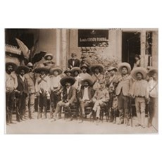 Emiliano Zapata and His Men Photo Print Framed Print