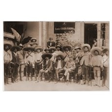 Emiliano Zapata and His Men Photo Print Poster