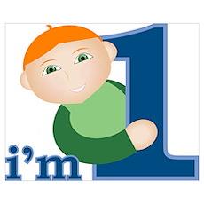 I'm 1 Baby Boy Poster
