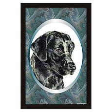 Labrador Retriever Designer Poster