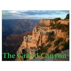 grand-canyon-sunset Framed Print