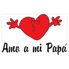 Amo a mi Papa Poster