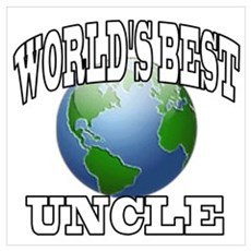 WORLD'S BEST UNCLE Poster