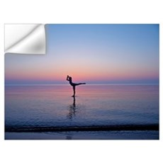 Dancing on Water Wall Decal