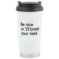 Break Your Reed Travel Mug