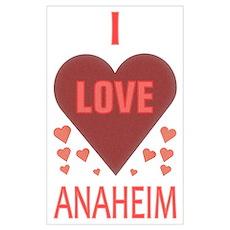 I Love Anaheim Poster