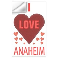 I Love Anaheim Wall Decal