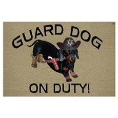 Helaine's Guard Dog Poster