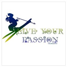 LIVE YOUR PASSION Poster